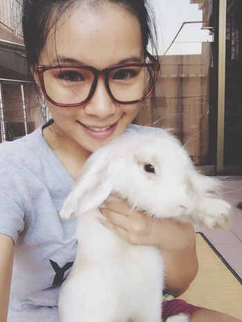 Cute Pets Rabbit I Love My Pets My Rabbit
