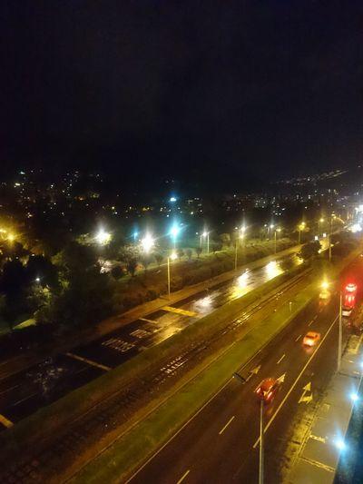 Rain Road SkyBlack Balconyview Whater Bogotá Belmira