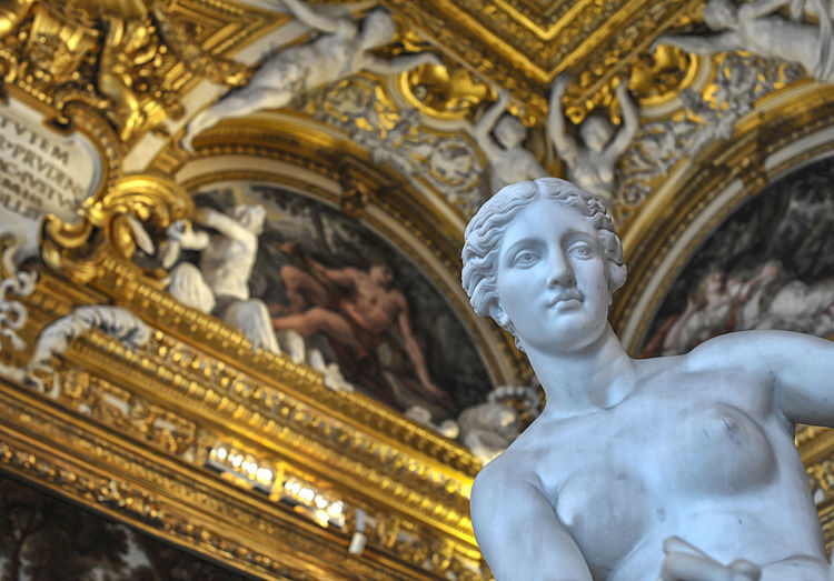EyeEmNewHere Architecture Art And Craft Female Likeness Human Representation Low Angle View Ornate Sculpture Spirituality Statue EyeEmNewHere