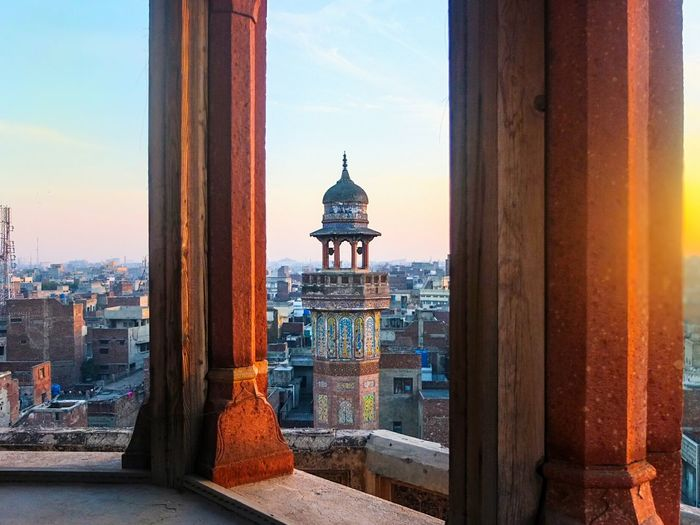 On top of a minaret at the Wazir Khan mosque. OpenEdit Urban Geometry Architecture Heritage Getting Inspired EyeEm Gallery Open Edit Culture Travel Shootermag