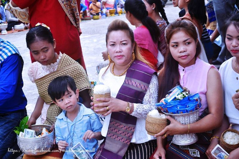 philanthropy World Culture Emotion Travel Photography Philanthropy Laos Togetherness Basket City Traditional Clothing Women High Angle View