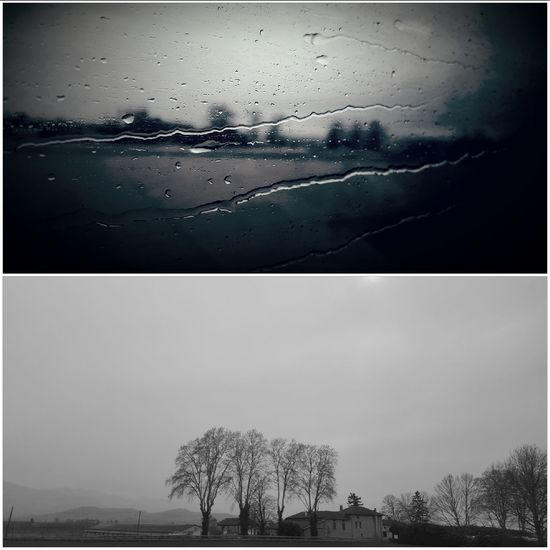 Viaje Travelphotography Blackandwhite Photography Blanco & Negro  Francia French Alps France From My Point Of View Rainy Days Rain Fromthetrain Passing By Window Wintertime Travelling Tranquil Scene