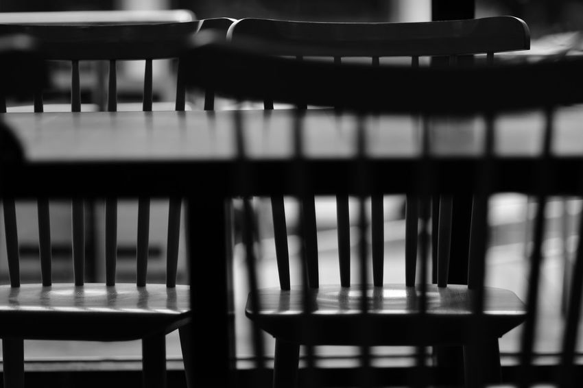 The City Light Indoors  Close-up No People Day Black And White