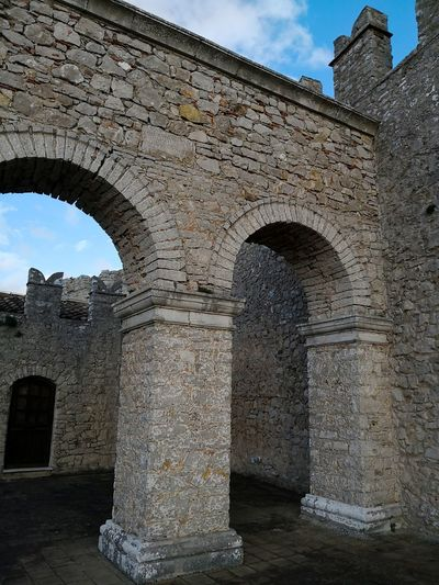 Detail castle Sicily Caccamo Castle Caccamo Ancient Civilization City King - Royal Person Ancient Old Ruin History Arch Place Of Worship Monument Architectural Column Stone Wall Ancient History Fort Stone Material Palace Fortified Wall Roman Medieval