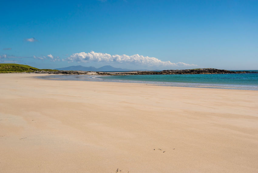 Beach Blue Day Hebrides Horizon Over Water Isle Of North Uist Landscape Nature No People Outdoors Outer Hebrides Sand Scotland Scotlandsbeauty Sea Sky Summer Tranquility Water Western Isles