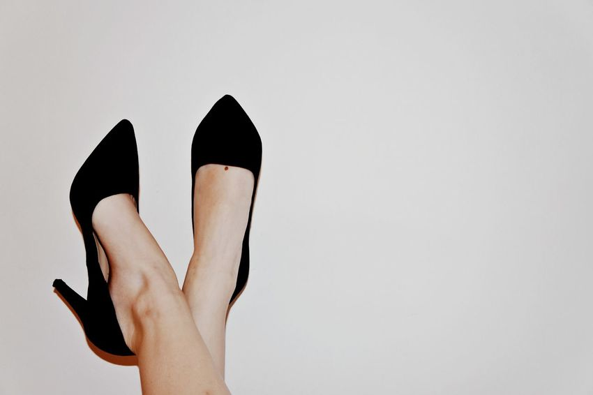 Adult Adults Only Black Color Close-up EyeEm Best Shots EyeEm Gallery Hells High Shoes Human Body Part Human Leg Limb Low Section One Person One Woman Only One Young Woman Only Only Women People Poland Shoes Studio Shot Wear Woman Women Young Adult 12daysofeyeem