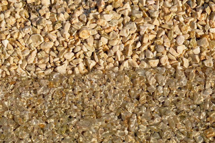 Croatia Kieselsteine Meer Strand Textured  Backgrounds Day No People Outdoors Steine Stone Wasser Water