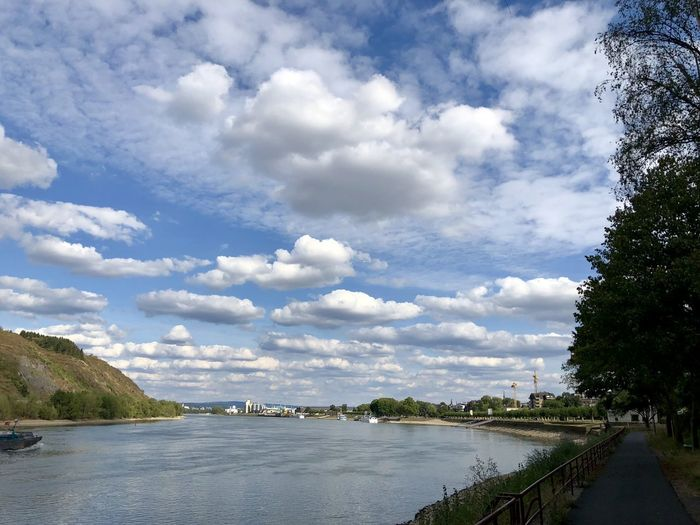 Water Cloud - Sky Sky Tree Plant Nature Day No People Scenics - Nature Architecture Built Structure Beauty In Nature River Tranquility Tranquil Scene Outdoors Building Exterior Bridge Transportation