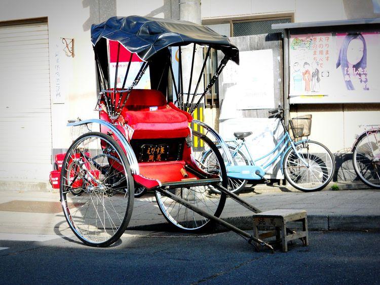 人力車。 Asian Culture Photography Street Photography Afternoon Taking Photos Vintage Rickshaw Rickshaw