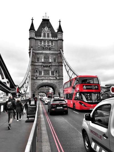 London Tower Bridge  Blackandwhite