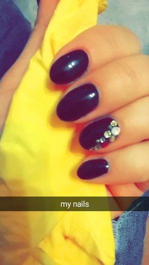 Mynails Inblack Winnter Colors Ilovethem