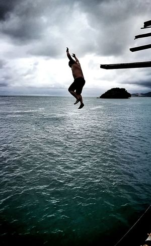 Overcome your Fear Cliff Jumping BoracayIsland Adventure