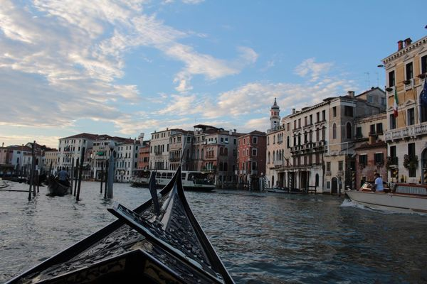 Venice Package Building Exterior Canal City Day Golden Hour Gondola Gondola - Traditional Boat Italy Landscape No People People Piazza San Marco Sky Sunset Tourism Travel Venezia Venice Water