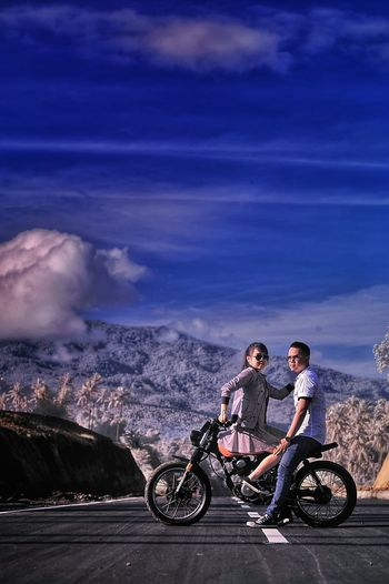 My prewedd :D photo taken by gayuh, retouch :me Hi! Cheese! Hello World That's Me Check This Out Morning Sky Manado - North Sulawesi, Indonesia. EyeEm Best Shots EyeEm Indonesia Caferacerculture Scrambler Bike Honda Nikon D750 Its Me Sky And Clouds Sunset Sun Clouds Skylovers Sky Nature Beautifulinnature Naturalbeauty Photography Landscape [ [a:181383] Hello World Falsecolor false Color Abr Infrared Photography