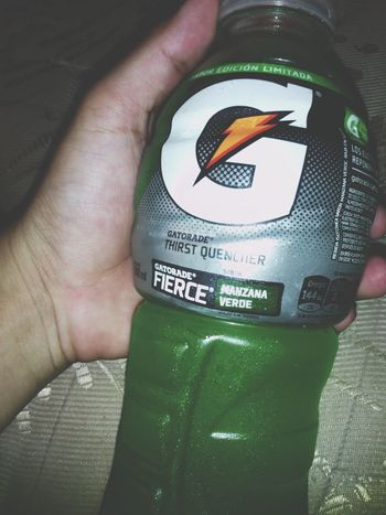 Gatorade Pooms Green