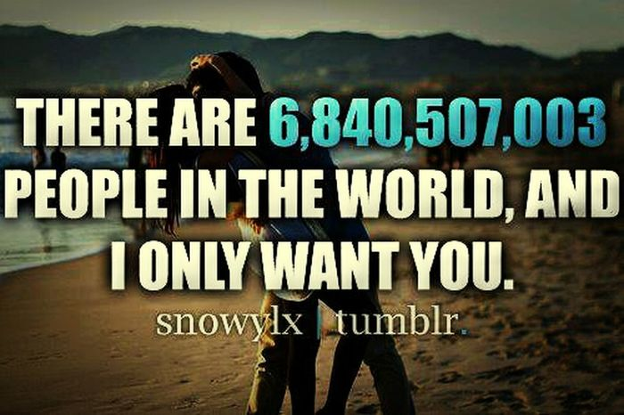 I Only Want Him <3