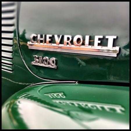 Vintage Chevy pickup is a good thing. Vintage Cars Chevrolet Automobile Close-up No People Vintage Trucks Antique Truck Great Industrial Design Communication Text Day