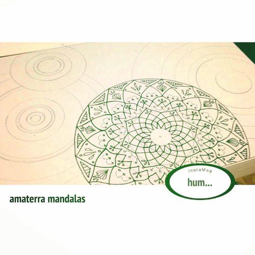 YohkoAmaterraArt 曼荼羅 マンダラ Mandalas Mandala Art Earth Drawing Create