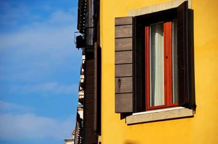 Yellow Built Structure at Venice, Italy TheCreatorClass Createexploretakeover EyeEm Best Shots EyeEmminimal Urbangrammers