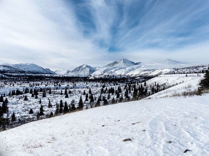 nature, untouched Beauty In Nature Blue Canada Cloud - Sky Cold Temperature Day Landscape Landscape_Collection Landscape_photography Mountain Mountain Range Mountain View Mountains And Sky Nature No People Outdoors Scenics Sky Snow Untouchedbeauty Wilderness Winter Winter Winter Wonderland Yukon
