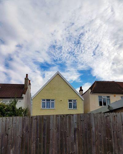 House Building Exterior Cloud - Sky No People