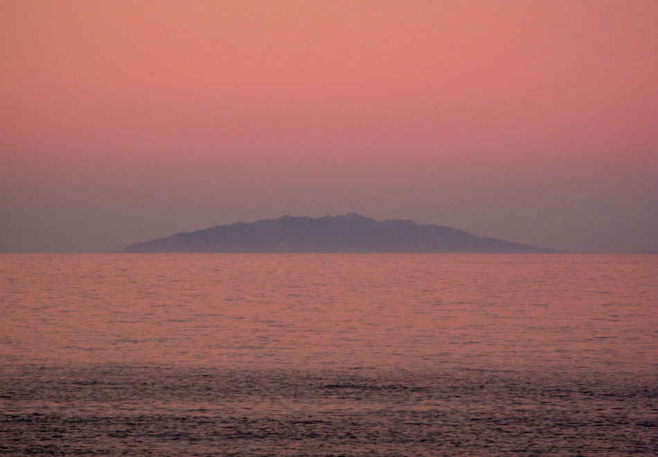 Atmosphere Beauty In Nature Elba Horizon Over Water Red Romantic Sea Seascape Sunset Water