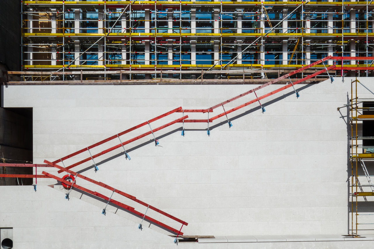 Scaffolding Against Built Structure
