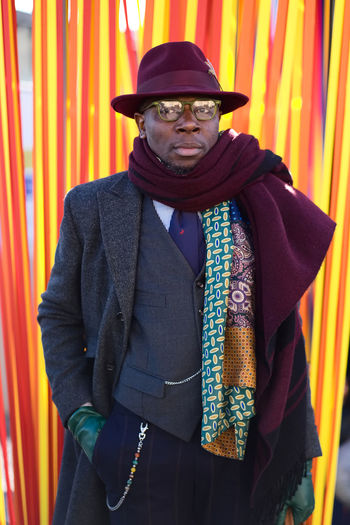 Mr. Defustel photographed at the 91th edition of Pitti Immagine Uomo in Florence. Colorful Colors Fashion Fashionable Fashionista Fashionphotography Italian Fashion Italian Style Only Men People Street Fashion Street Style From Around The World Style
