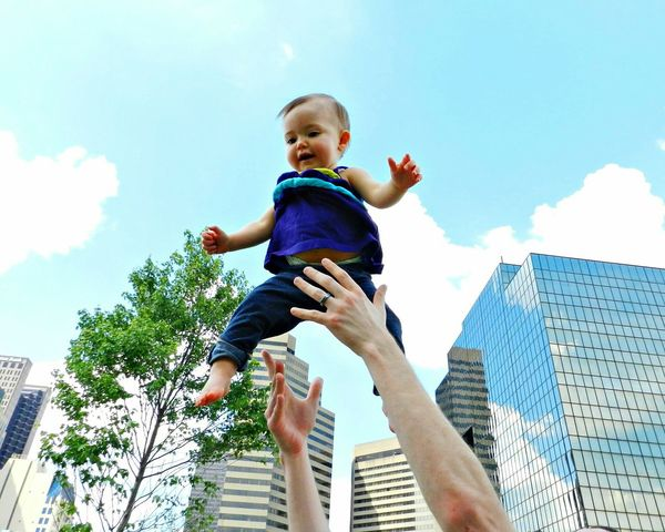 Baby City Flying High At The Park Columbus