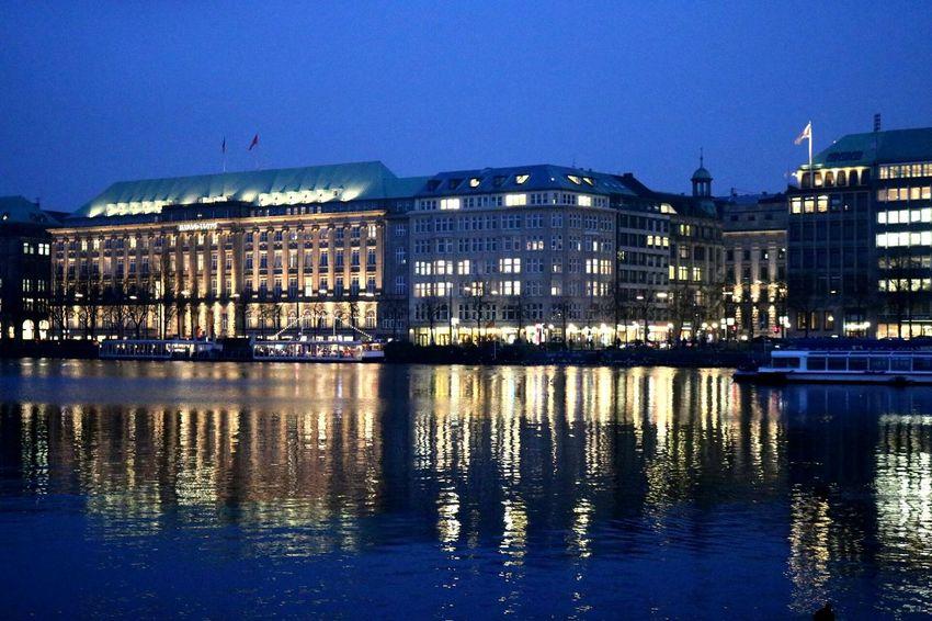 Hamburg Landungsbrücken  Water