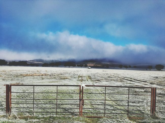 Fence Nature Beauty In Nature No People Day Foggy Mountains HuaweiP8 Capture The Moment Landscape Rural Scene