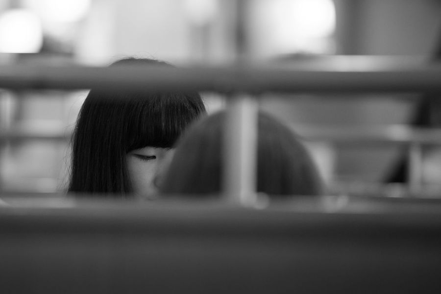 Some came to this diner to have a cheap snack. Others came to have a chat in an easy going place with airconditioning. Mostly teenagers. Some even came here to make their school homework while enjoying a pizza and a cold drink. Summer in Tokyo. City Copy Space Japan Tokyo Tokyo,Japan Travel Adult Bangs Black And White Body Part Close-up Diner Females Girl Hair Hairstyle Headshot Human Body Part Human Face Human Hair Indoors  Leisure Activity Lifestyles Looking One Person People Portrait Real People Selective Focus Street Unrecognizable Person Window Women Young Woman