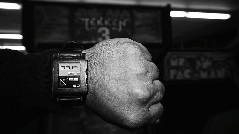 Pebble time.... Pebblewatch Taking Photos Blackandwhite The Human Condition TheWeekOnEyeEM Los Angeles, California Capturing History