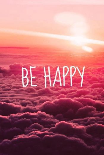 #be Happy #clouds #sky #thinking