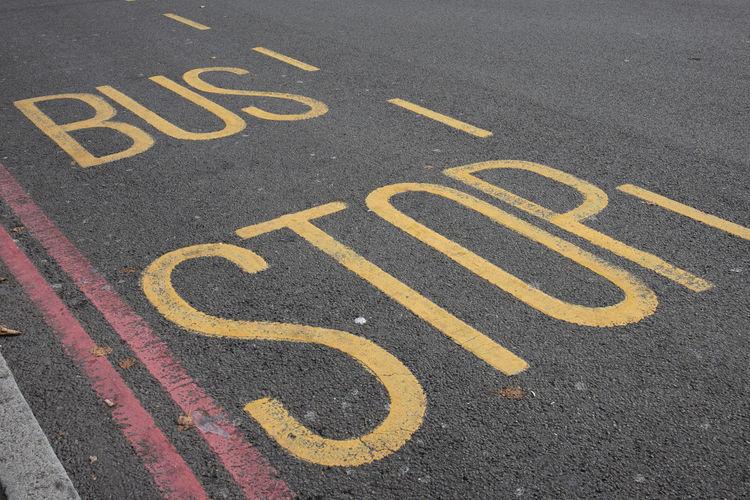 Bus stop in