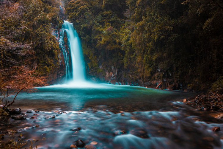3 falls... EyeEmNewHere Beauty In Nature Blurred Motion Environment Falling Water Flowing Flowing Water Forest Land Long Exposure Motion Nature No People Outdoors Plant Power Power In Nature Purity Rock Rock - Object Scenics Scenics - Nature Tree Water Waterfall