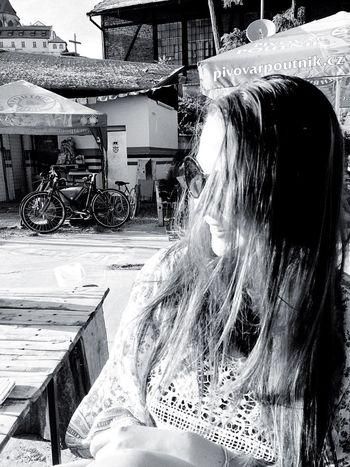 Janis Joplin. Hippie Hippielife Blackandwhite