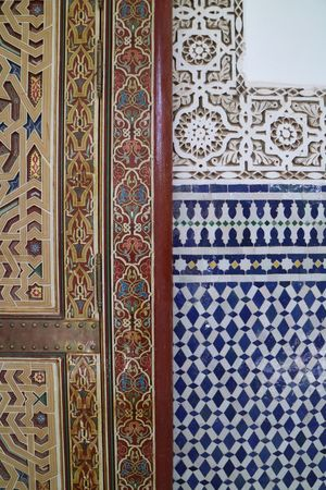 Arabic Architecture Design Door Façade Mausoleum Morocco Mosaic No People Old Door Oriental Oriental Style Ornaments Ornate Painting Rissani Travel Photography Your Design Story EyeEm Diversity