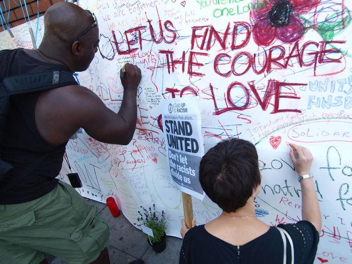 Vigil: No to Islamophobia-Unity with Finsbury Park Mosque. London. 20-06-17 Finsbury Park Finsbury Park Attack Finsbury Park Mosque HUMANITY Islamophobia London News Olympus Photojournalism Steve Merrick Stevesevilempire Terrorism Vigil Vigil No To Islamophobia Zuiko
