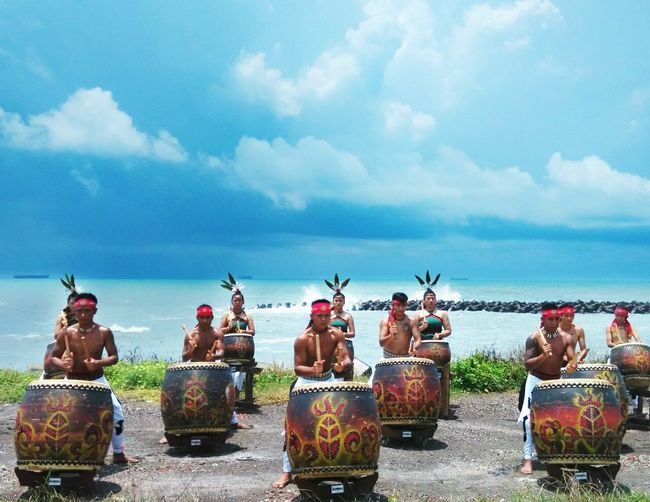 Native Pride Natives EyeEm Nature Lover Blue Sky Sea And Sky Percussion