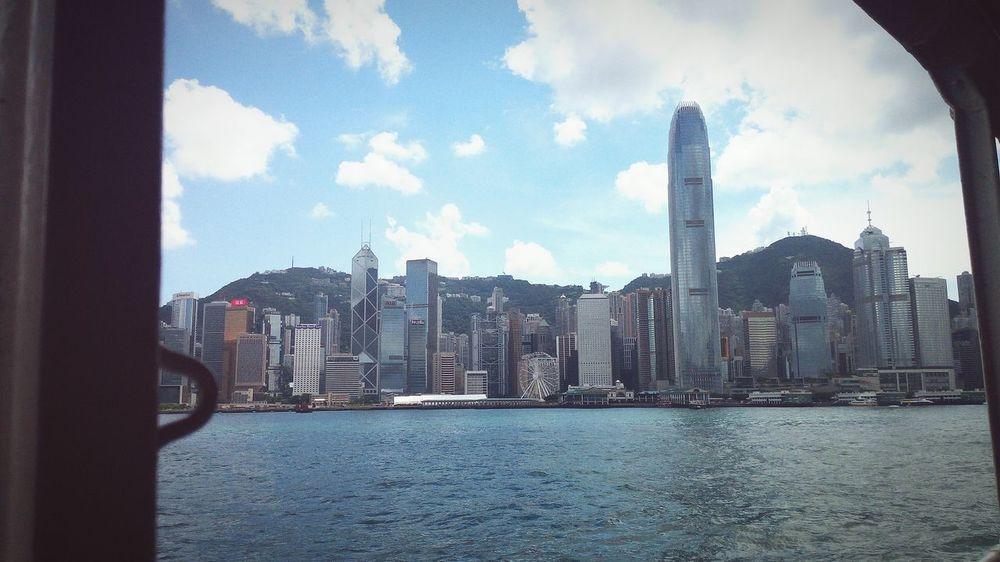 star ferry in HK Hk Hongkongcity Starferry Travel Destinations Architecture River City Travel First Eyeem Photo