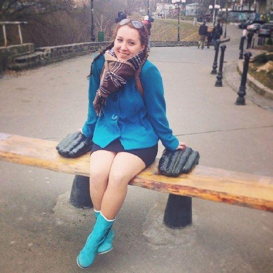 Я влюбилась в эти руки! большаяжитомирская пейзажнаяаллея бж Киев веснаандреевскийспуск
