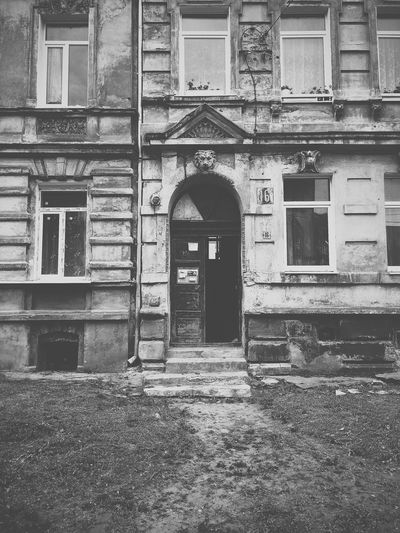 View of old building