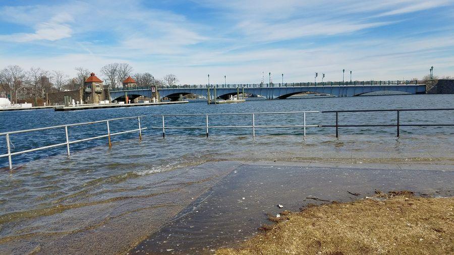 Storm surge at Glen Island Park (2/3/2018) Storm Surge Day