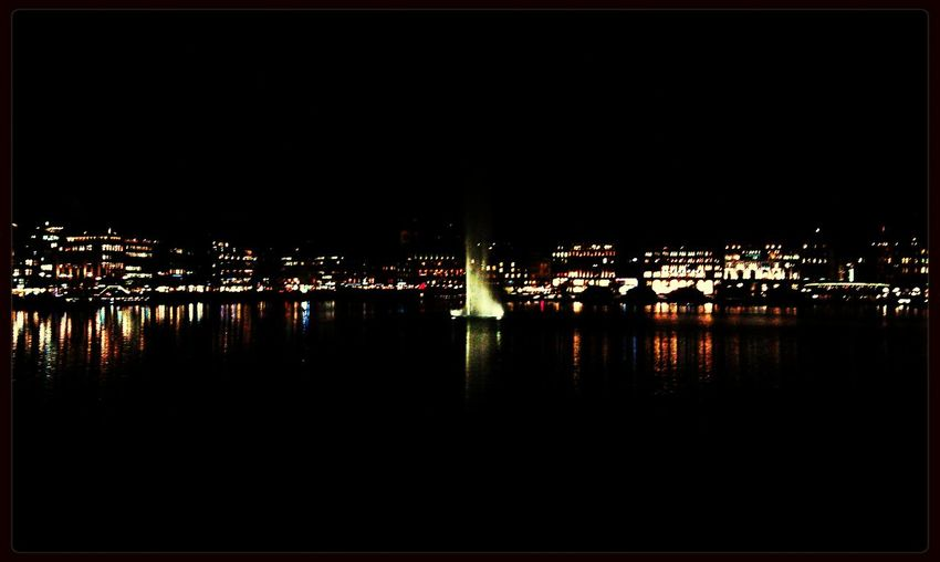 Hamburg Alster Night Lights