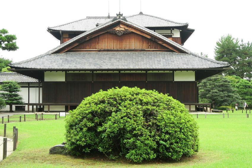 A day in Kyoto Historical Building Japan Japan History Tranquility Built Structure History Japan Garden Kyoto Nijo Castle Nijo-jo Castle Roof