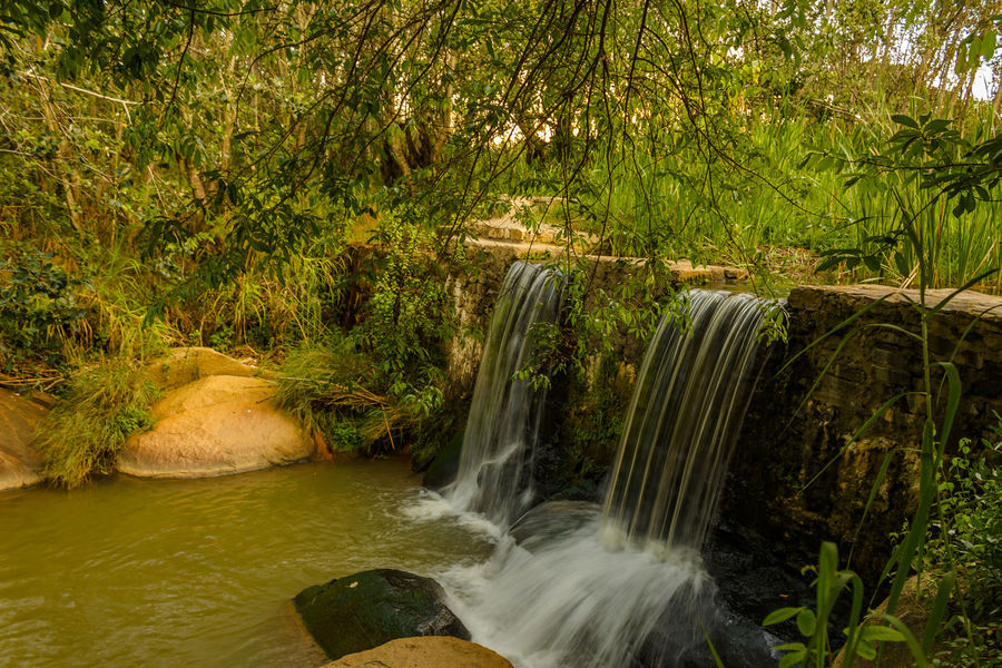 Jungle Waterfall Angola Travel Vacations Africa Beauty In Nature Day Destination Forest Huila  Long Exposure Lubango Motion Nature No People Outdoors Plant River Rock - Object Scenics Summer Tourism Tree Water Waterfall