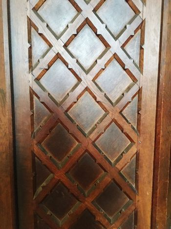 Woodwork  Cathedral Pattern, Texture, Shape And Form Textures And Surfaces Grid Crosshatch Diagonals Diamond