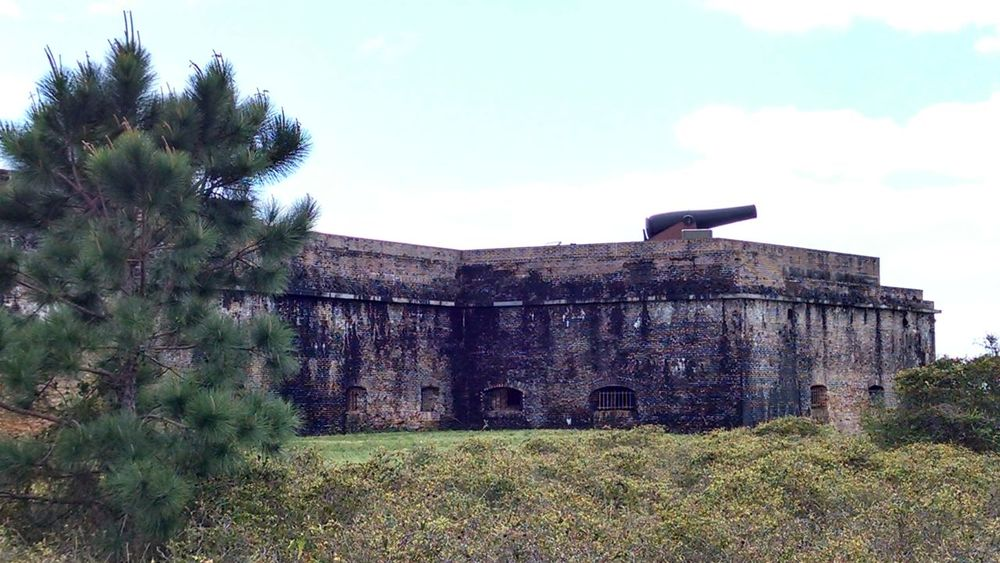 Fort Pickens Civil War Civilwarfort Architecture Exterior View