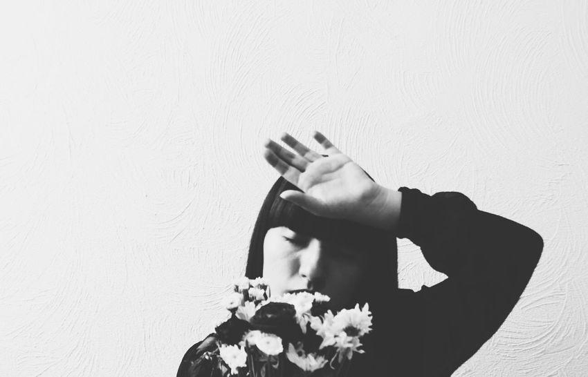 Black & White Blackandwhite Photography Canon Canon Photography Canon Shooter Canon T3i EyeEm Best Shots Monochrome Photography Self Portrait Selfportrait Woman Portrait